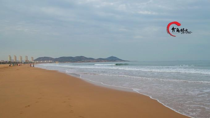 黄岛金沙滩图片