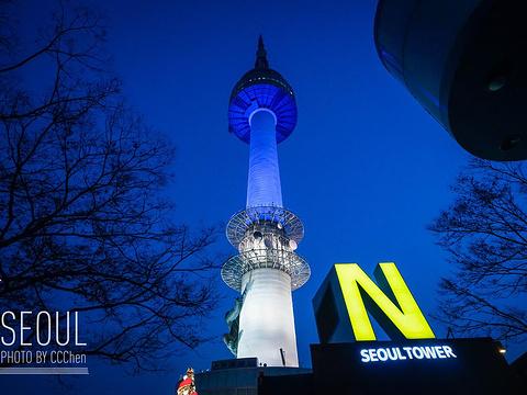 N首尔塔旅游景点图片