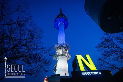N首尔塔的图片