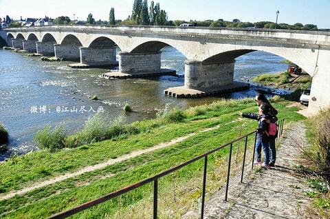 卢瓦尔河谷旅游景点攻略图