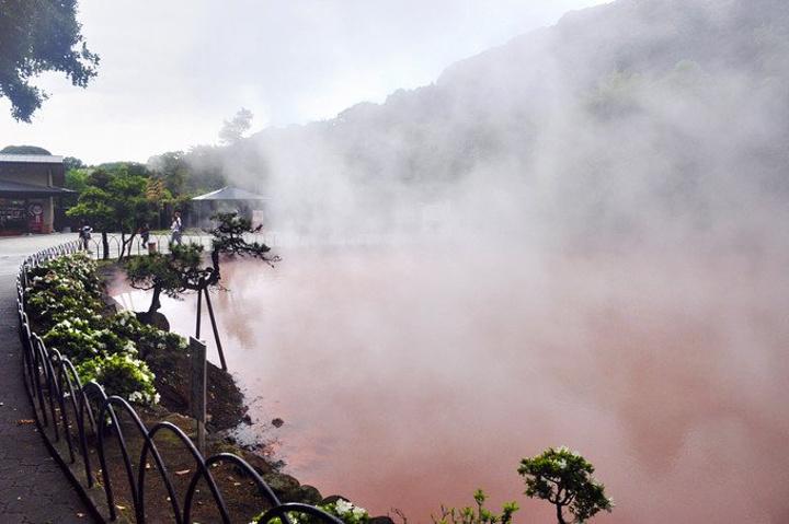 """""""血池地狱是日本历史最悠久的天然地狱_血池地狱 """"的评论图片"""