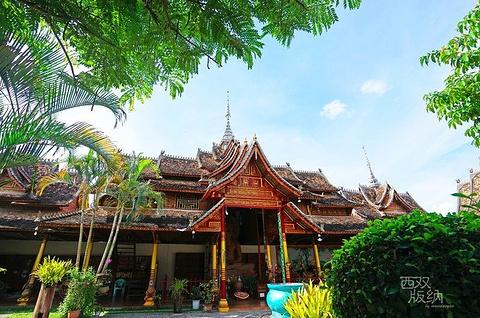 曼春满佛寺旅游景点攻略图