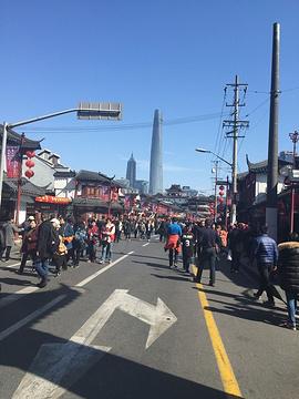 上海老街旅游景点攻略图
