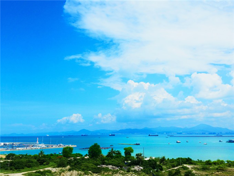 情人湾旅游景点攻略图
