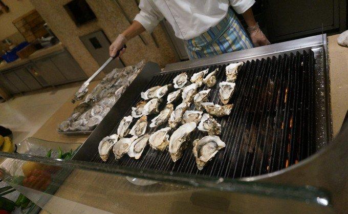 广州长隆酒店白虎自助餐厅图片