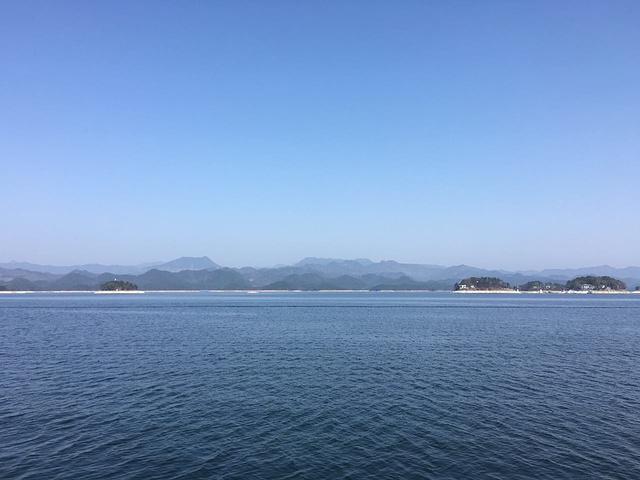 """""""付费景点稍坑、免费经典风光无限好。上岛跟我们环湖看到的风景也差不多。往返一个人也不便宜_千岛湖中心湖区""""的评论图片"""