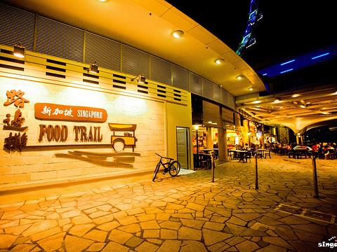 新加坡路边摊旅游景点图片