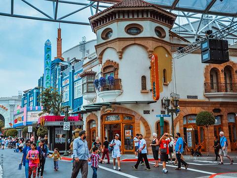 新加坡环球影城旅游景点图片