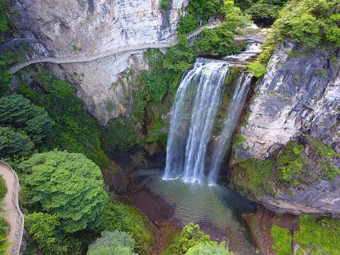 飞水谷旅游景点图片