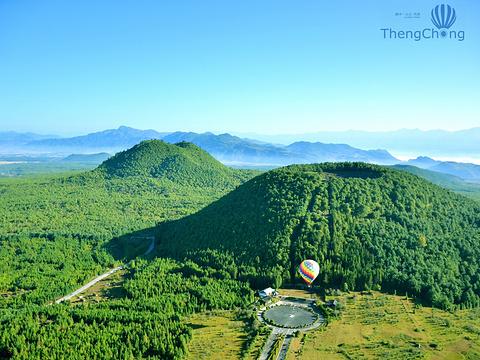 火山地热国家地质公园旅游景点图片
