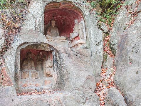千佛岩旅游景点图片