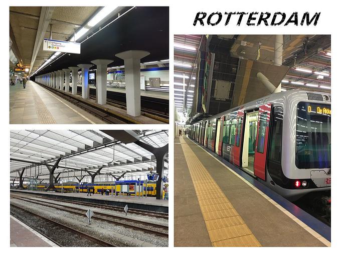 鹿特丹中央火车站图片