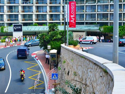 摩纳哥F1锦标赛赛道旅游景点图片