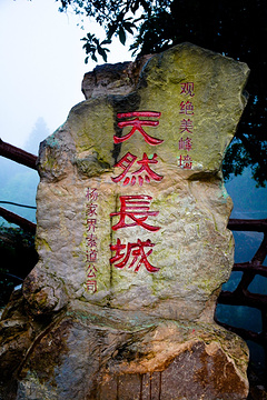 杨家界旅游景点攻略图