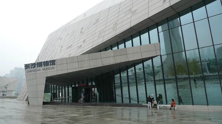 长沙市岳麓山爱晚亭_2020...的文化建筑群,临江的下沉广场上还能欣赏到浏阳河与湘江 ...
