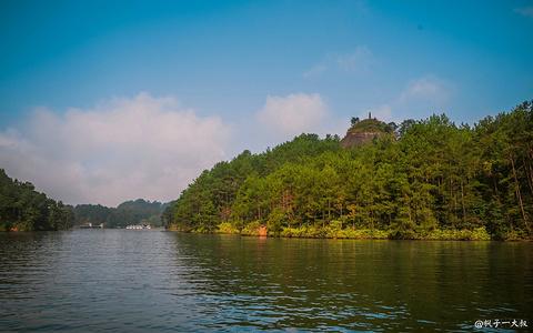 石门湖的图片