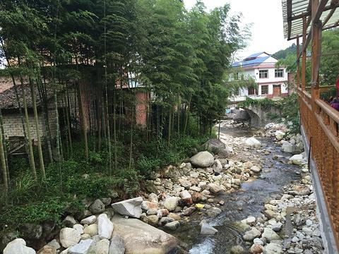 青龙山庄 旅游景点攻略图