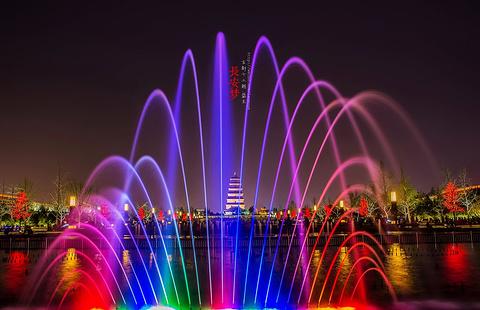 大雁塔北广场旅游景点攻略图
