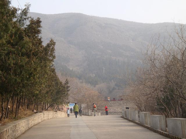 """""""这样的楼梯登山有点伤膝盖,最好走旁边的坡道,要注意安全哦,。附近景点有有凤山温泉、十三陵水库等_蟒山国家森林公园""""的评论图片"""