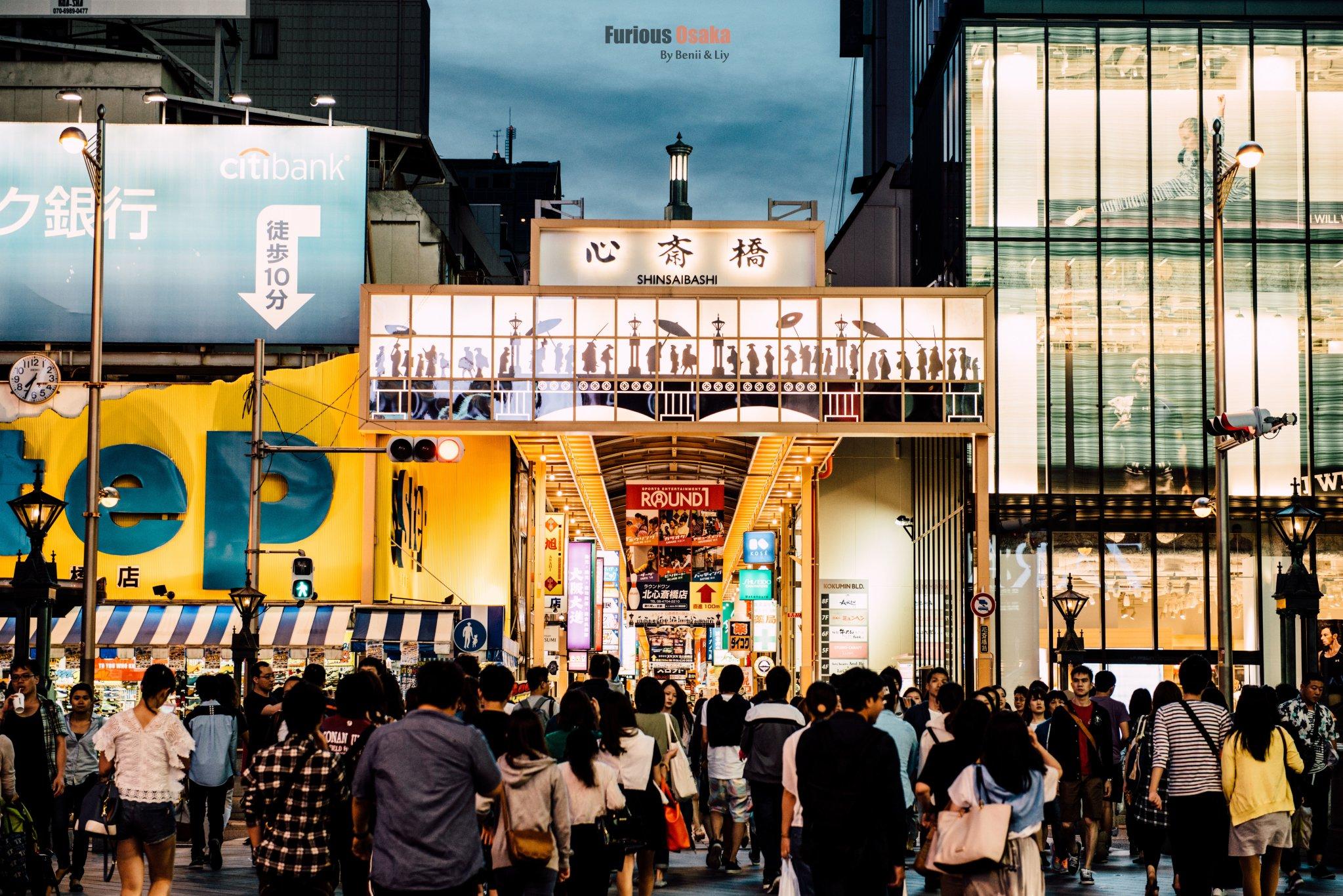 【日本】迷失东京,梦之京都,急行大阪
