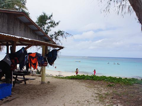 塔加海滩旅游景点图片