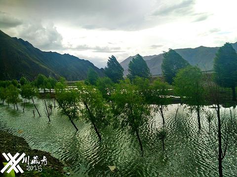 松赞干布出生地旅游景点图片