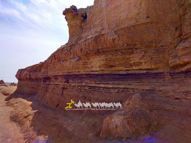 雅丹地质公园图片