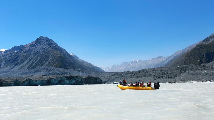 """""""从TEKAPO大约2小时就到达MT CO..._塔斯曼冰川""""的评论图片"""