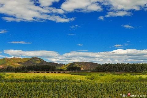 科尔沁草原旅游景点攻略图