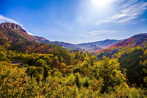 红叶谷生态文化旅游区旅游景点攻略图