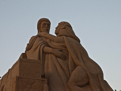国际沙雕艺术广场旅游景点图片