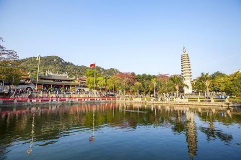 南普陀寺旅游景点攻略图