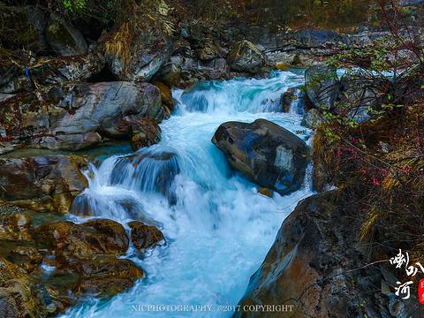 二郎山喇叭河风景区旅游景点图片