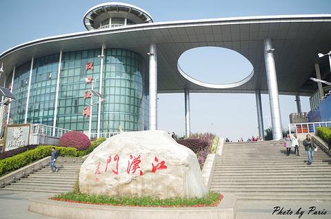 汉口江滩公园旅游景点攻略图