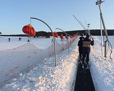 新年第二滑--嵩顶滑雪记