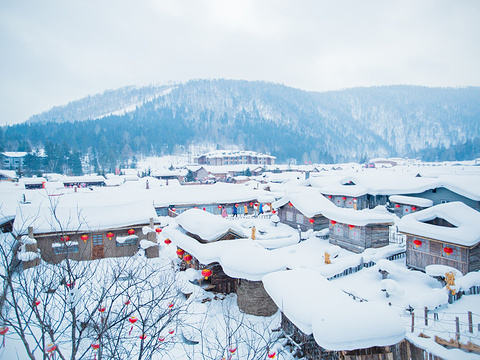 雪乡国家森林公园旅游景点图片
