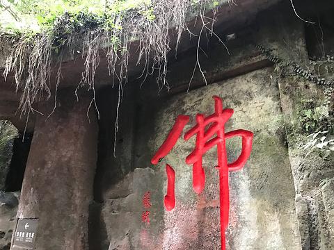 乐山睡佛旅游景点图片