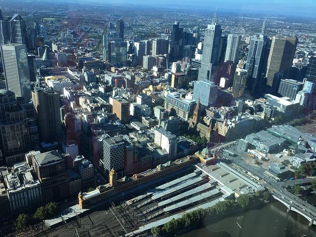 """""""我觉得澳大利亚有一点很神奇的地方,就是每一个城市都有它独特的风格,不尽相同~_尤里卡大厦""""的评论图片"""