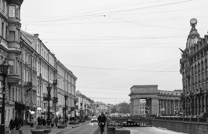圣彼得堡街景图片