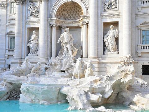 特莱维喷泉旅游景点图片
