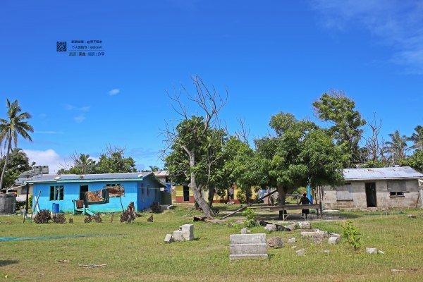 漂亮的斐济村图片