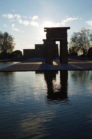 """""""其实德波神庙本身没什么亮点,主要是庙宇边有个观景台,可以俯瞰马德里景色,推荐。门票:免费_埃及庙""""的评论图片"""
