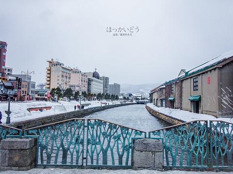 小樽运河旅游景点图片