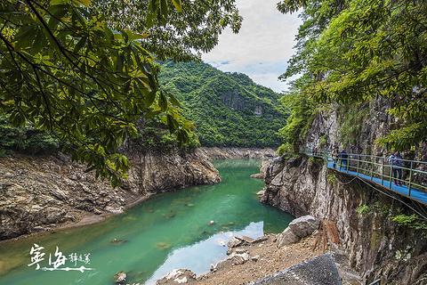浙东大峡谷的图片