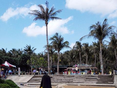 白沙湾海滩旅游景点图片