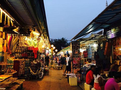 暹粒艺术夜市旅游景点图片