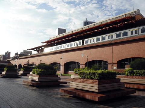 捷运淡水站旅游景点图片