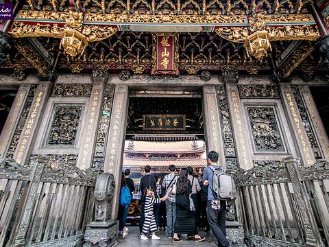 艋舺龙山寺旅游景点图片
