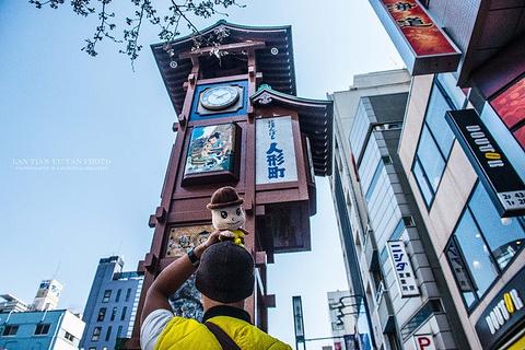 人形町商业街旅游景点攻略图