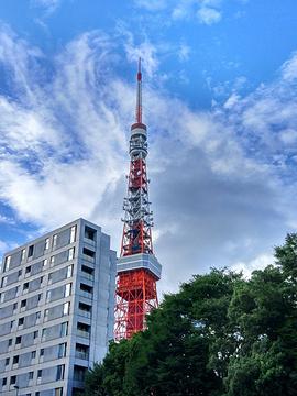 东京塔旅游景点攻略图